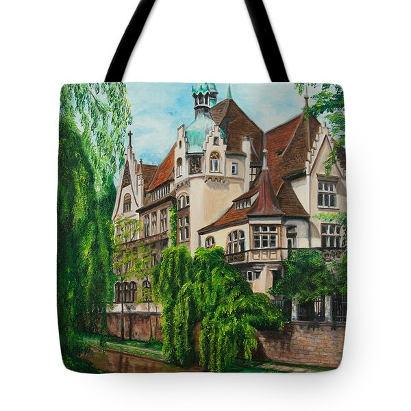 My Dream House Tote Bag by Charlotte Blanchard