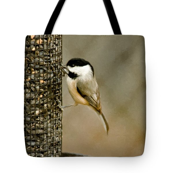 My Favorite Perch Tote Bag by Lana Trussell