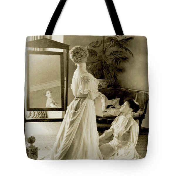 My Lady Daisy Tote Bag by DigiArt Diaries by Vicky B Fuller