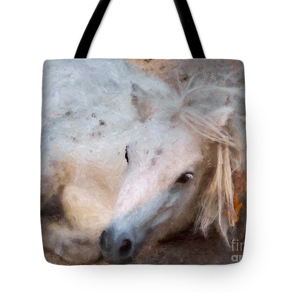 My Little Horse Tote Bag by Angela Doelling AD DESIGN Photo and PhotoArt