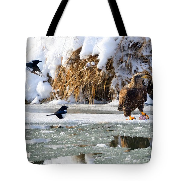 My Lunch Tote Bag by Mike Dawson