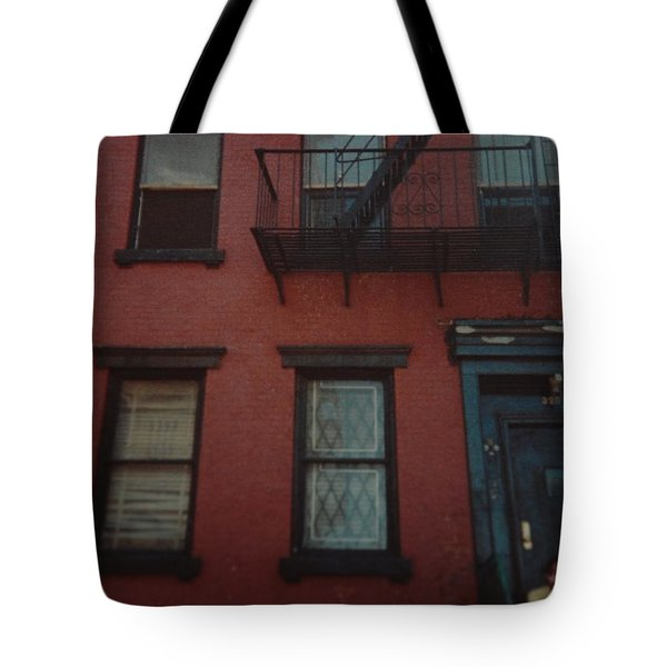 My Pops First Home In The United States Tote Bag by Rob Hans