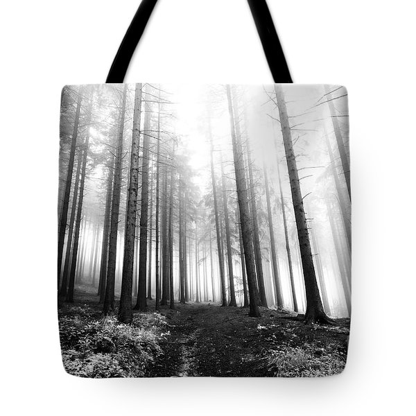 Mysterious Forest Tote Bag by Michal Boubin