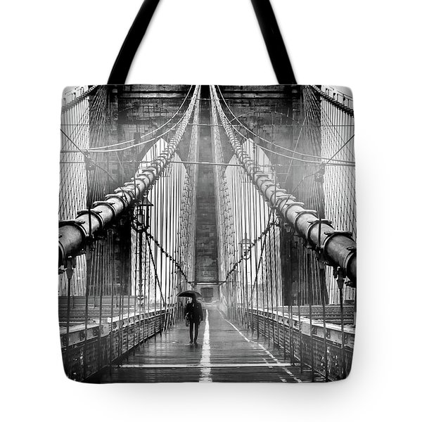 Mystery Manhattan Tote Bag by Az Jackson