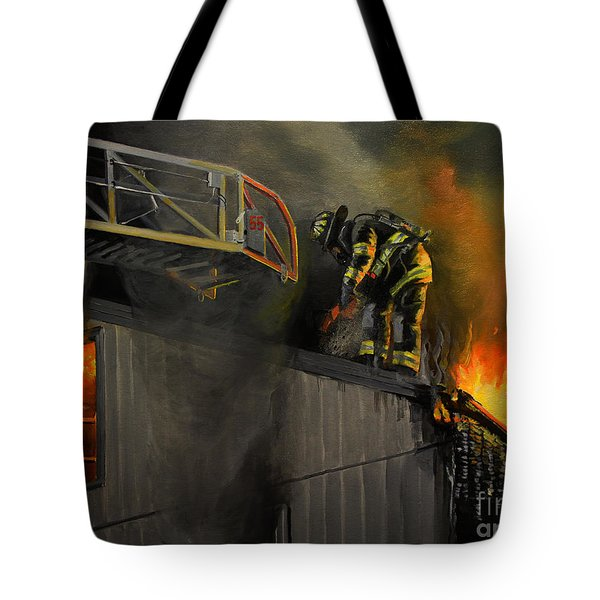 Mystic Fire Tote Bag by Paul Walsh