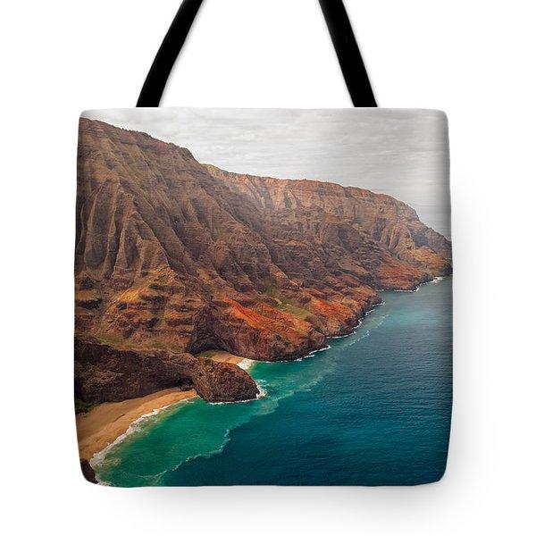 Na Pali Coast 3 Tote Bag by Brian Harig