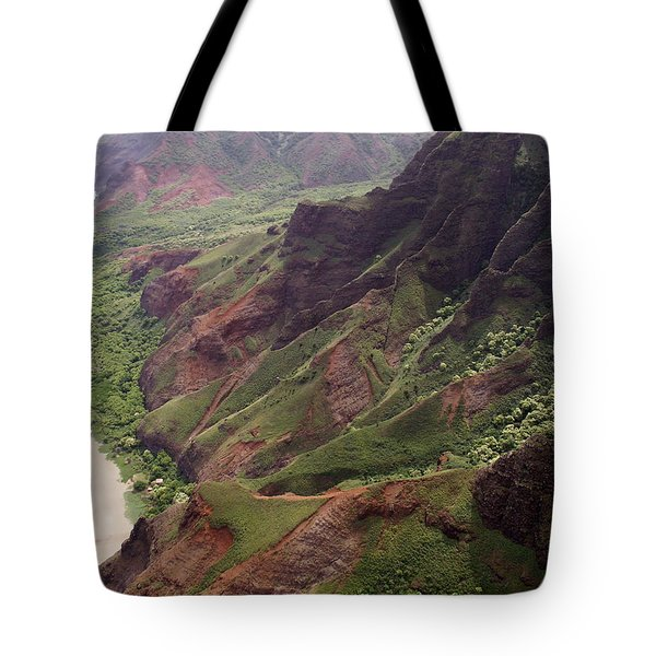 Na Pali Coast Tote Bag by Amy Fose