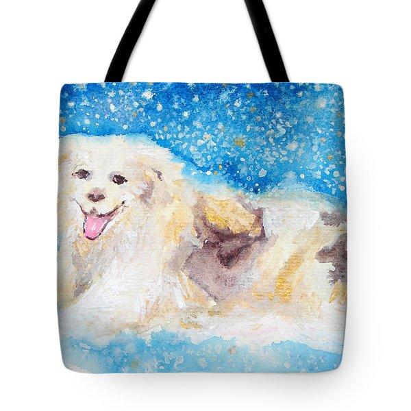 Nanny Bliss Tote Bag by Ashleigh Dyan Bayer
