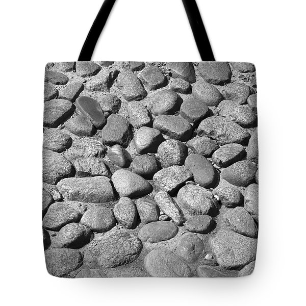 Nantucket Cobblestones Tote Bag by Charles Harden