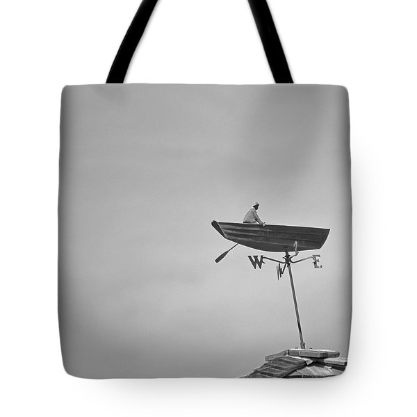 Nantucket Weather Vane Tote Bag by Charles Harden