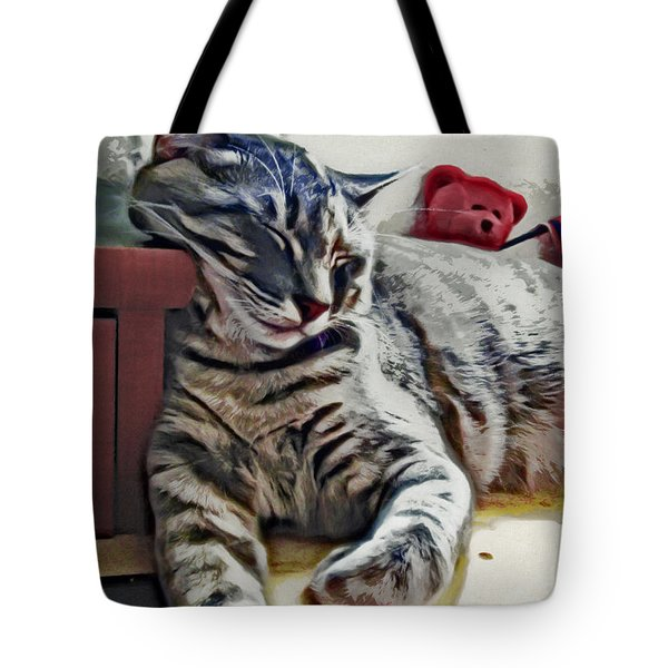 Nap Number Ten Tote Bag by David G Paul