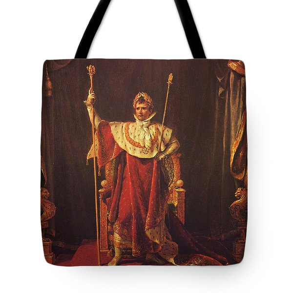 Napoleon Tote Bag by War Is Hell Store