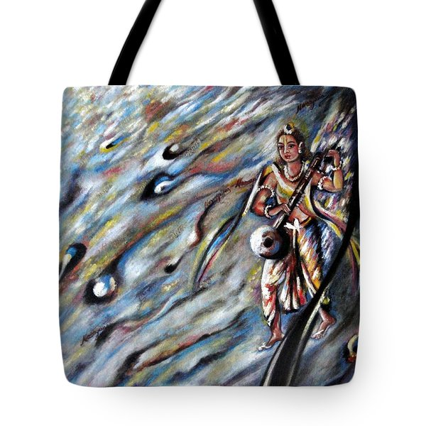 Narada Muni Tote Bag by Harsh Malik