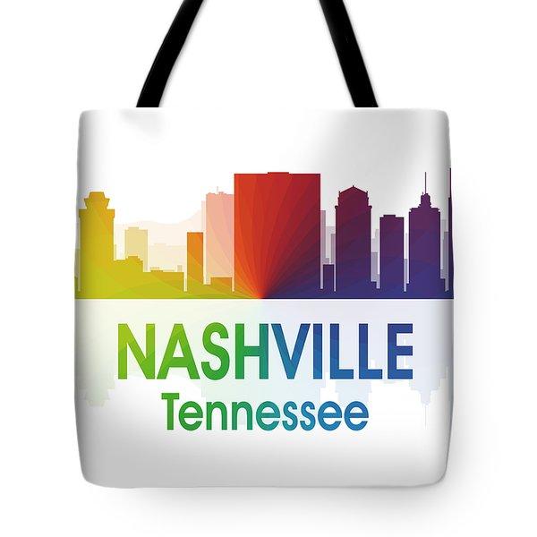 Nashville Tn Tote Bag by Angelina Vick