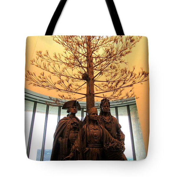 National Museum Of The American Indian 7 Tote Bag by Randall Weidner