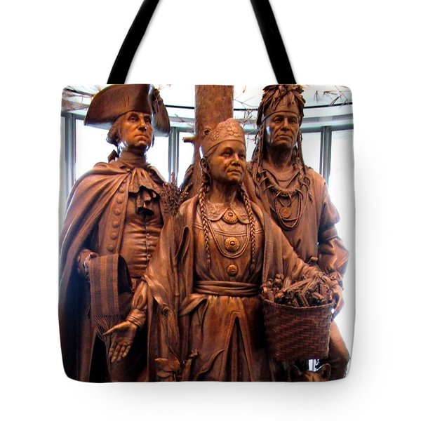 National Museum Of The American Indian 8 Tote Bag by Randall Weidner
