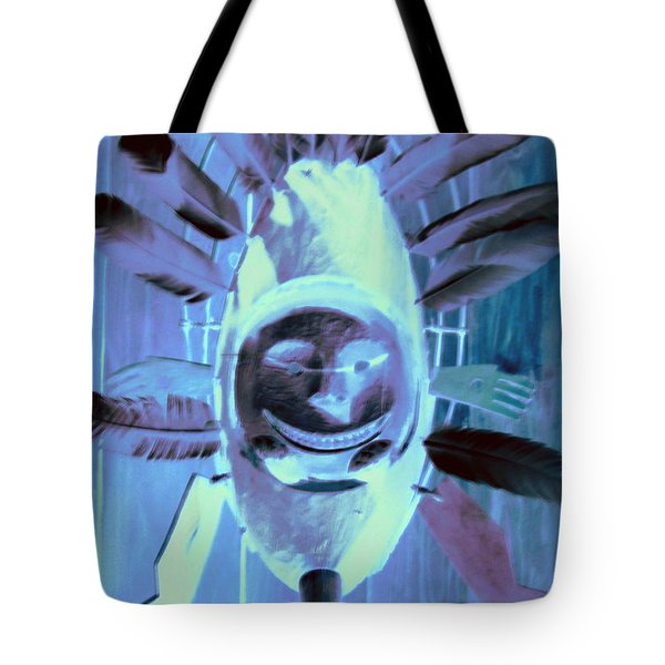 National Museum Of The American Indian 9 Tote Bag by Randall Weidner