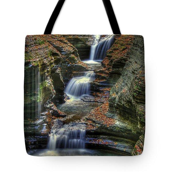 Nature's Tears Tote Bag by Evelina Kremsdorf