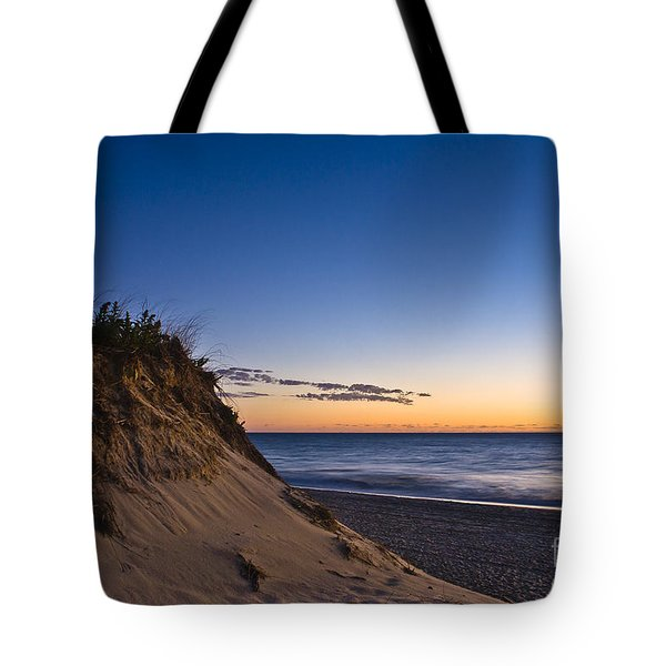 Nauset Beach Sunrise Tote Bag by John Greim