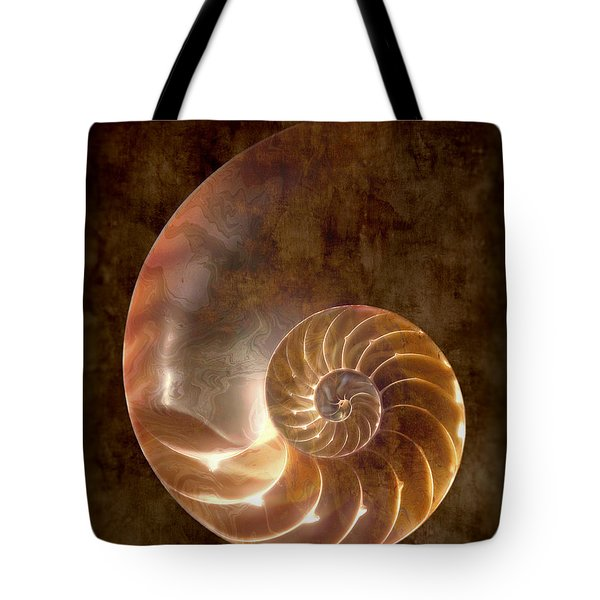 Nautilus Tote Bag by Tom Mc Nemar