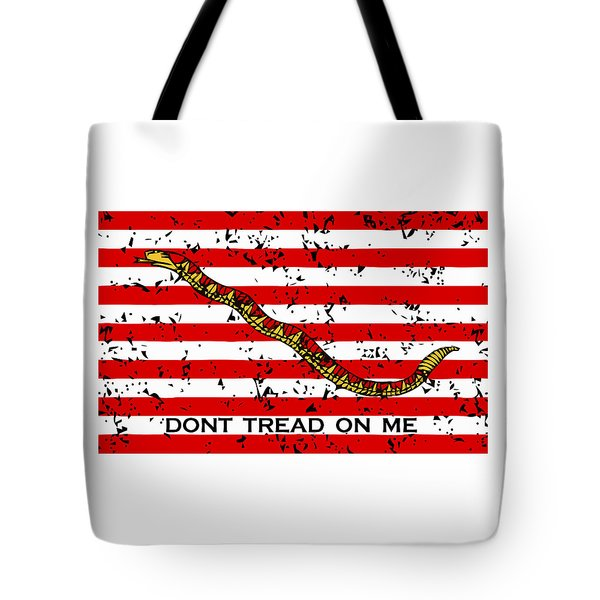Navy Jack Flag Tote Bag by War Is Hell Store