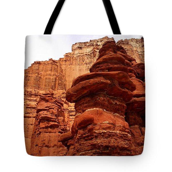 Near Moab 3 Tote Bag by Marty Koch