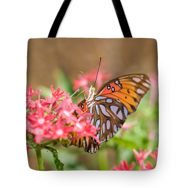 Nectaring Tote Bag by Betty LaRue