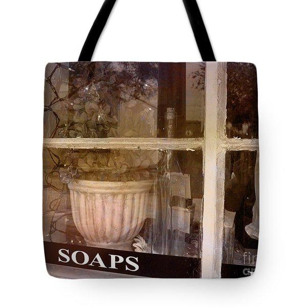 Need Soaps Tote Bag by Susanne Van Hulst
