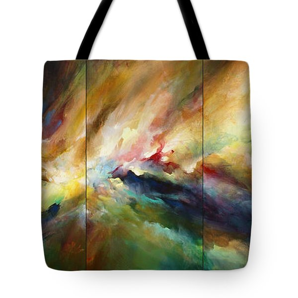 'neptunes Pass' Tote Bag by Michael Lang
