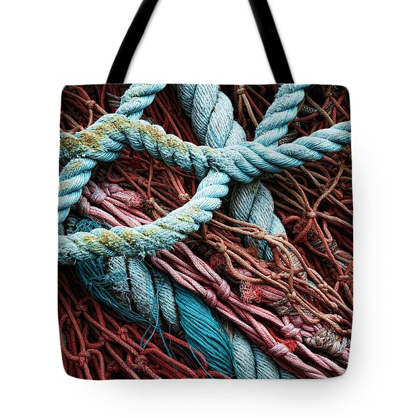 nets and knots number six Tote Bag by Elena Nosyreva