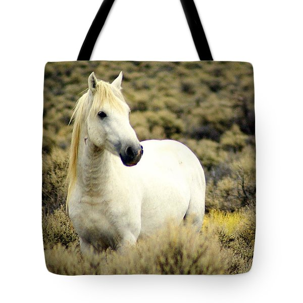 Nevada Wild Horses 3 Tote Bag by Marty Koch