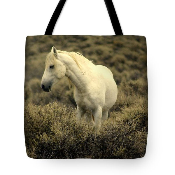 Nevada Wild Horses 4 Tote Bag by Marty Koch