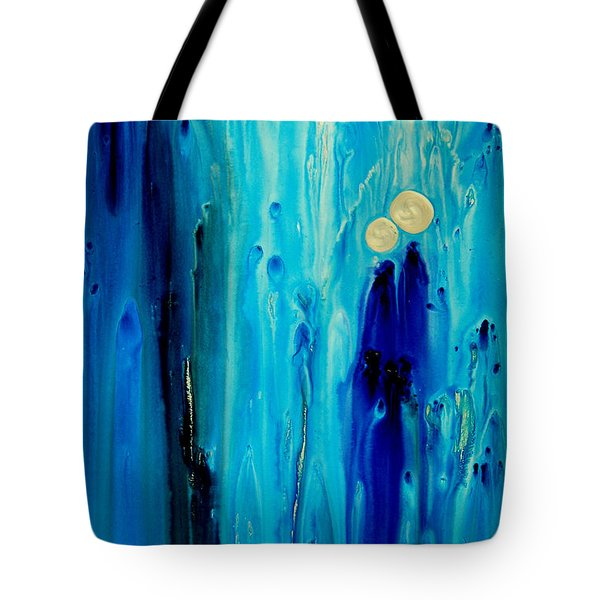 Never Alone Tote Bag by Sharon Cummings