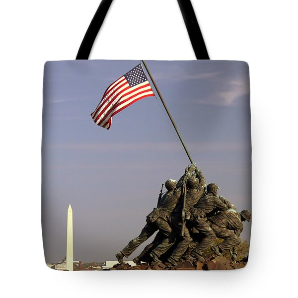 Never Forget Tote Bag by Mitch Cat