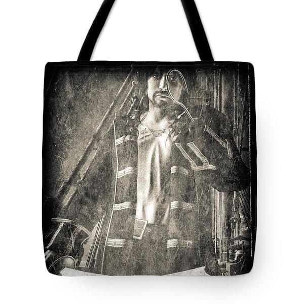 Never Neverland Captain Hook Tote Bag by Bob Orsillo