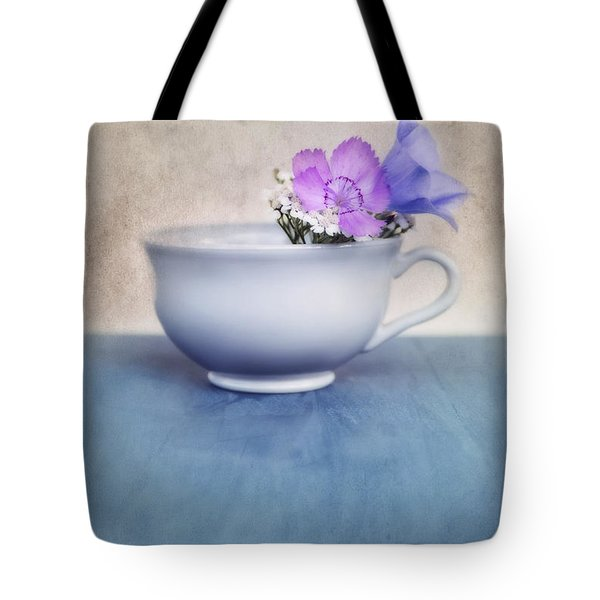 New Life For An Old Coffee Cup Tote Bag by Priska Wettstein