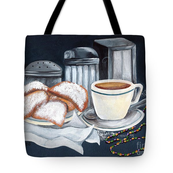 New Orleans Favorites Tote Bag by Elaine Hodges