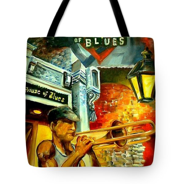 New Orleans' House Of Blues Tote Bag by Diane Millsap