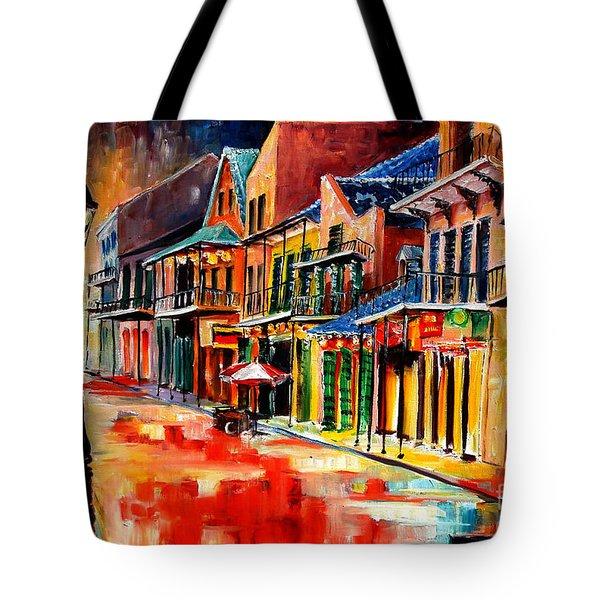 New Orleans Jive Tote Bag by Diane Millsap