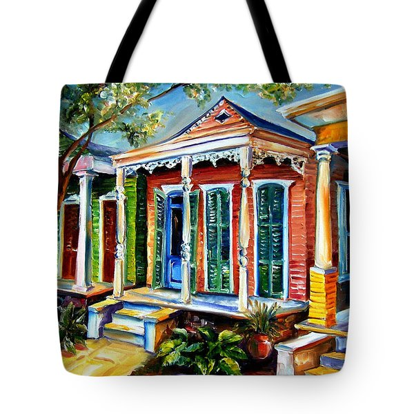 New Orleans Plain And Fancy Tote Bag by Diane Millsap