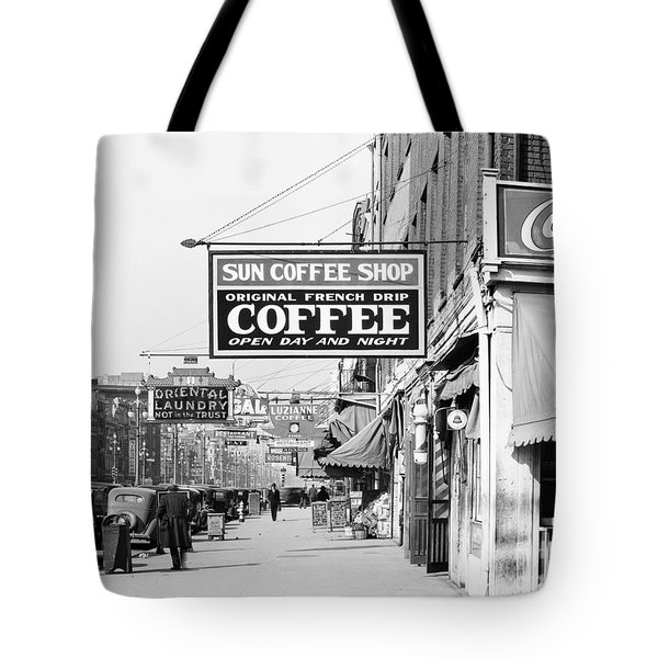 New Orleans: Street, 1935 Tote Bag by Granger