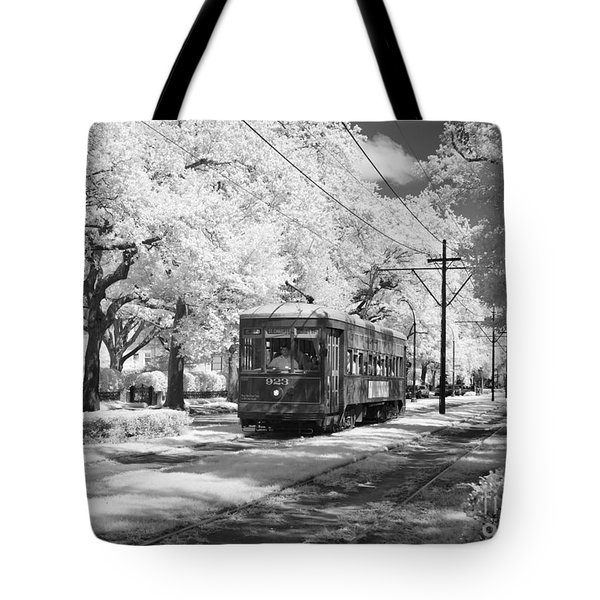 New Orleans: Streetcar Tote Bag by Granger