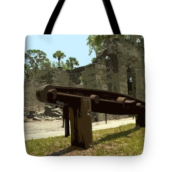 New Smyrma Sugar Mill Tote Bag by Allan  Hughes