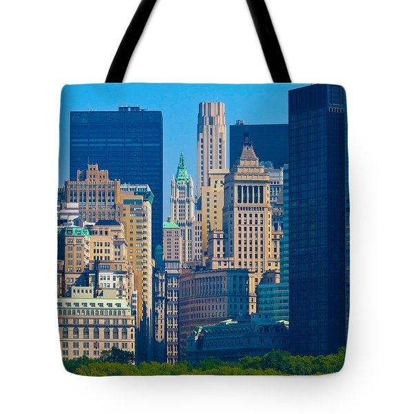 New York City Tote Bag by Douglas J Fisher