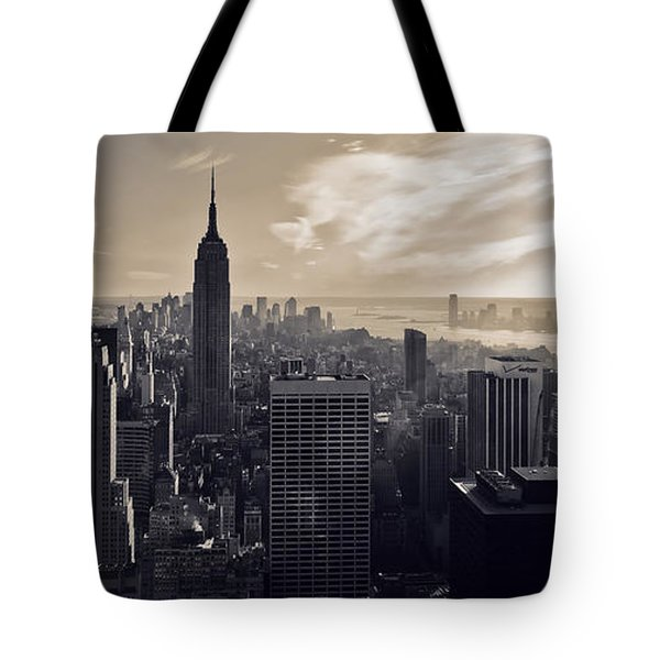 New York Tote Bag by Dave Bowman