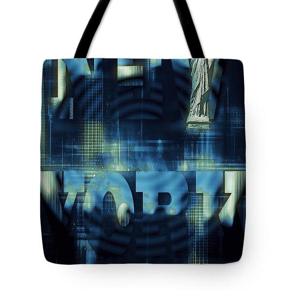 New York Tote Bag by Ivan Gomez