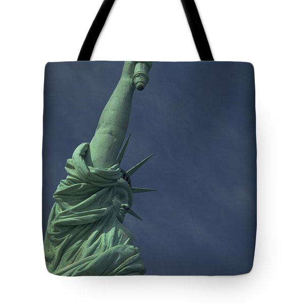 Tote Bag featuring the photograph New York by Travel Pics