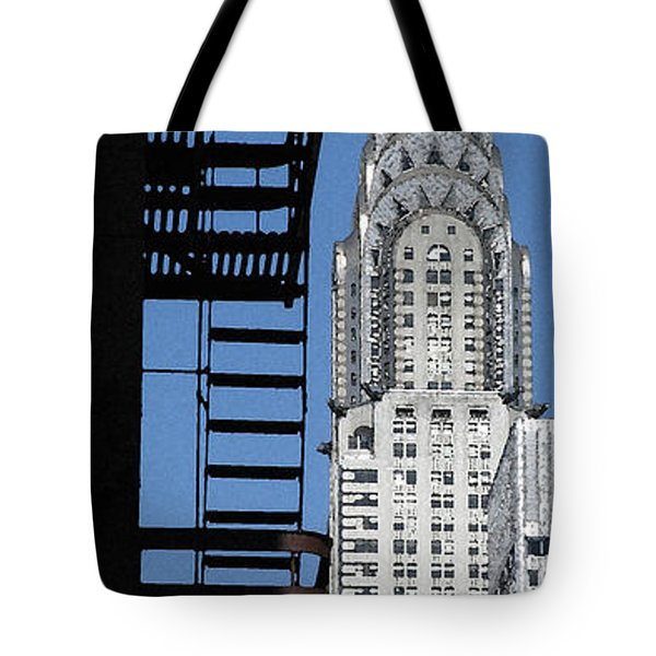 New York Watercolor 3 Tote Bag by Andrew Fare
