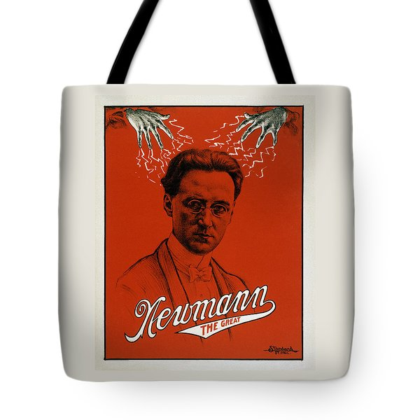 Newmann The Great - Vintage Magic Tote Bag by War Is Hell Store