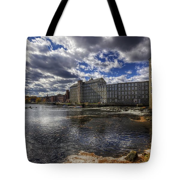 Newmarket Nh Tote Bag by Eric Gendron